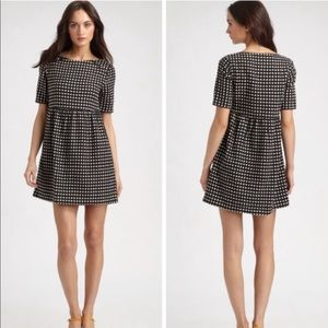 Ace & Jig Polka Dot Dress Linen Cotton sz M